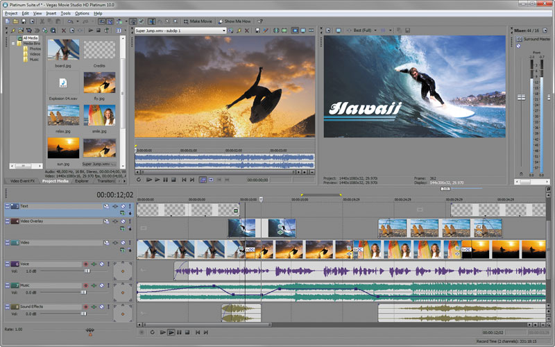 sony vegas pro 10 templates downloads