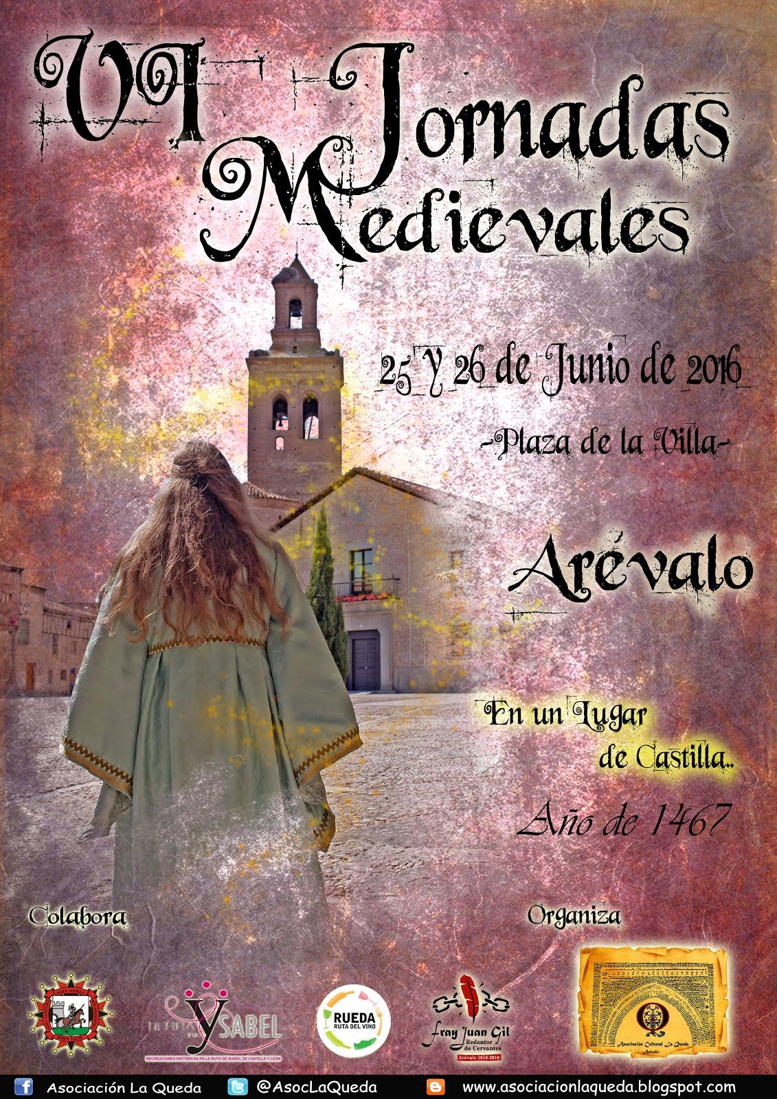 Cartel de las VI Jornadas Medievales 2016