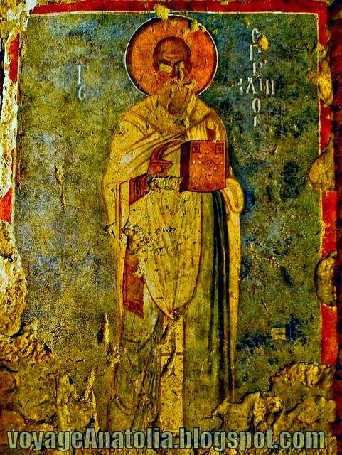 Fresco Detail St. Nicholas of Myra