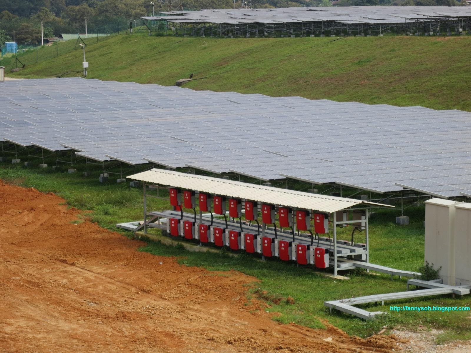 Solar Farm Malaysia The Biggest Solar Farm or Grid