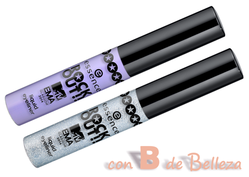 Liquid Eyeliner Silver Purple