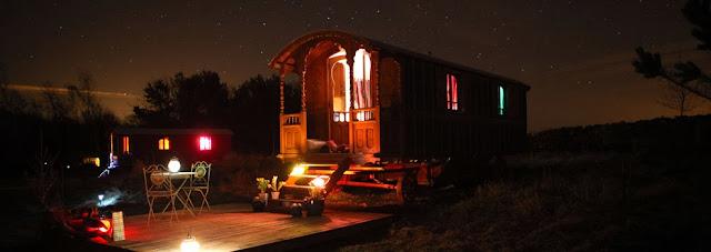 roulotte, caravan, gypsy, Scotland