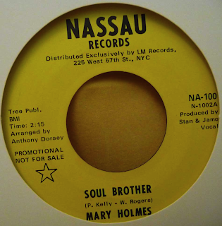 Mary Holmes Soul Brother After I Shed A Tear