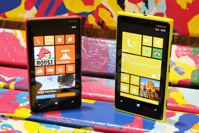 Nokia Lumbia 920 Nokia's latest flagship phone