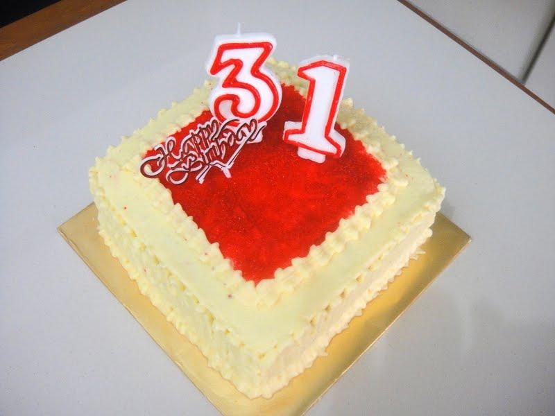 Fazys Kitchen Happy 31st Birthday