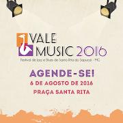 CIDADE CRIATIVA, CIDADE FELIZ - Vale Music 2016 - Agende-se