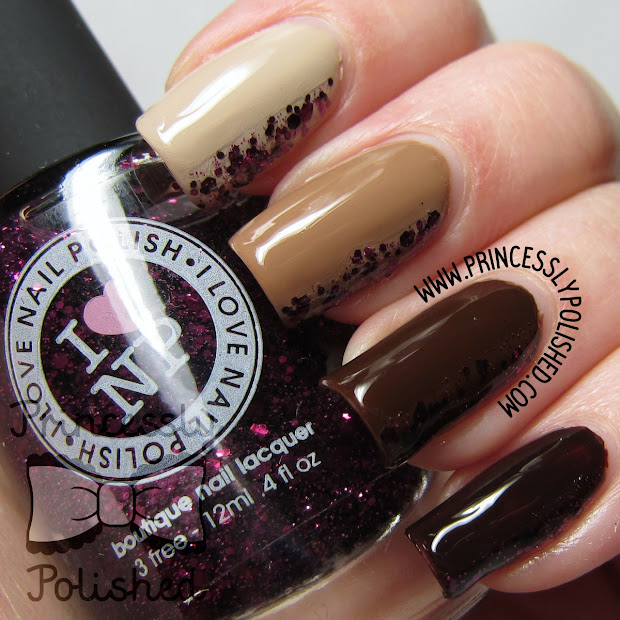 princessly polished brown ombre