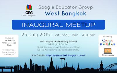 GEG West Bangkok Inaugural Meetup
