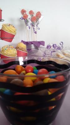 Mesa dulce m&m