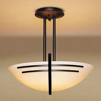semi flush mount lighting