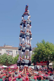 Building 429 band name inspiration - Human Pyramid