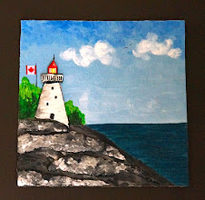 Lighthouse Mixed Media