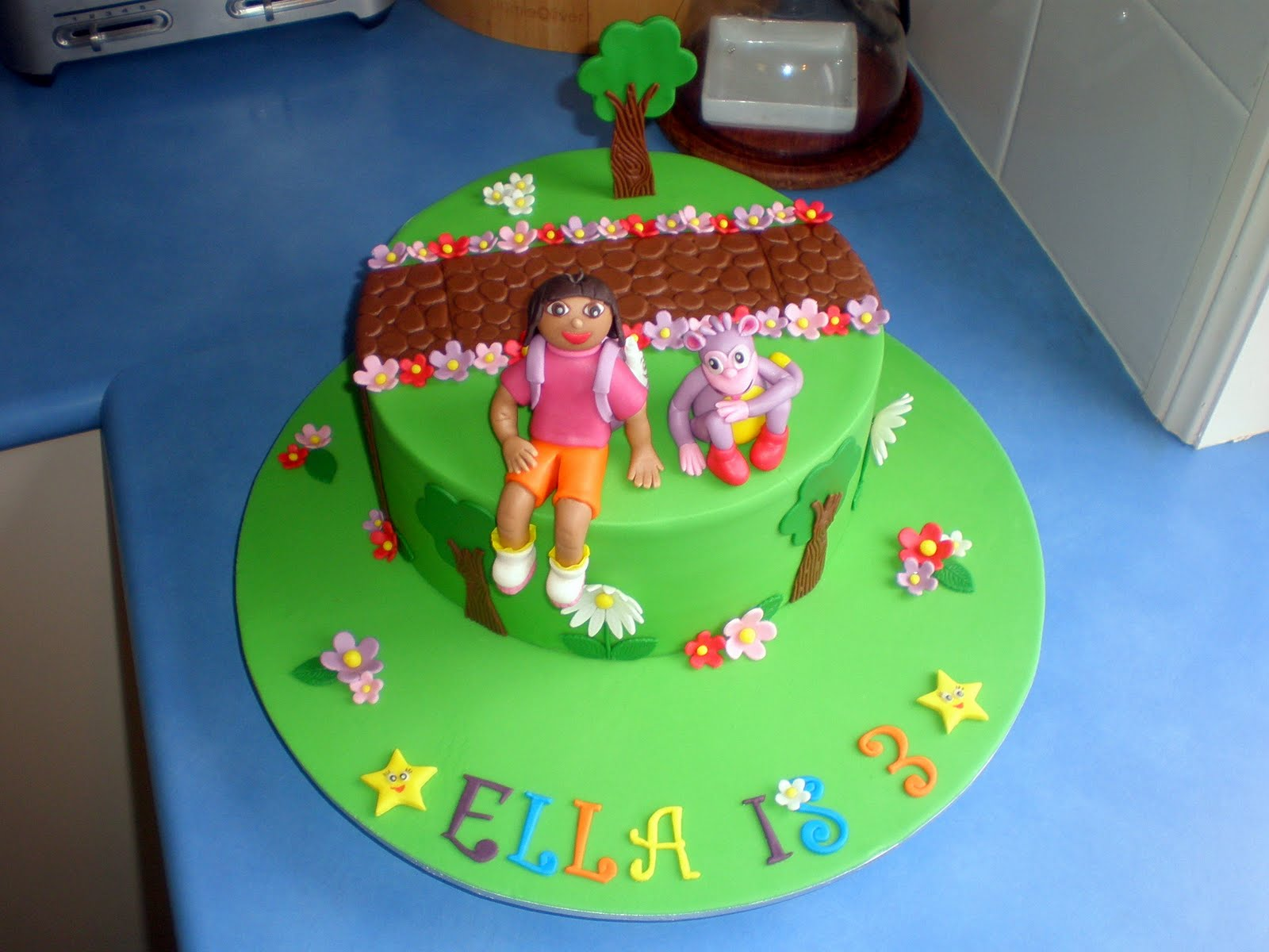 Sugar Siren Cakes Mackay Dora the Explorer Birthday Cake