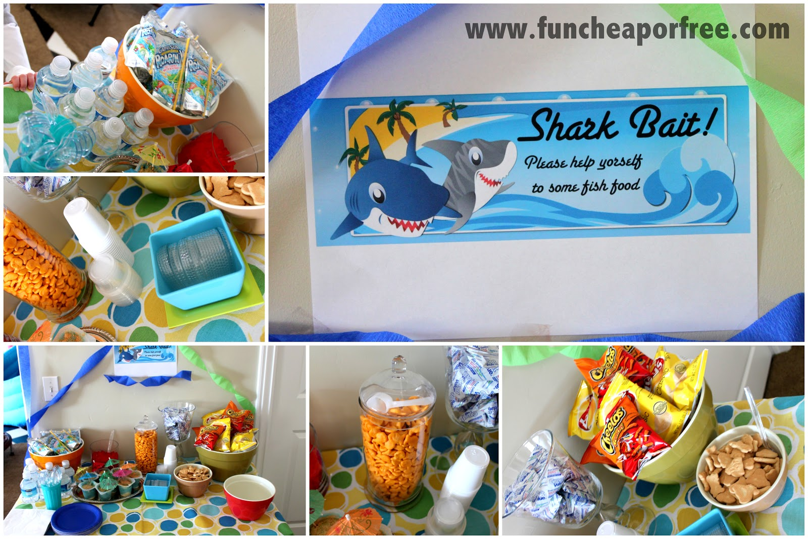 Ocean-themed birthday party! - Fun Cheap or Free