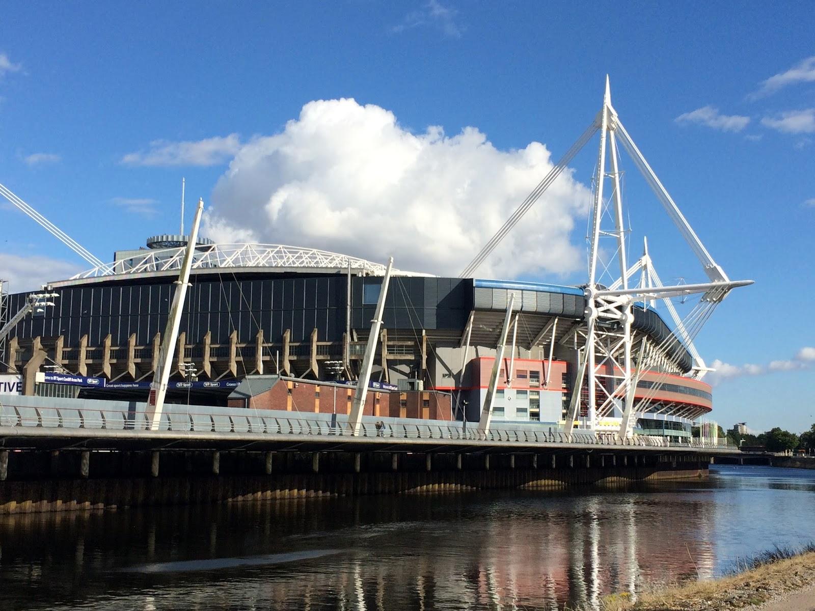 cozy birdhouse | millennium stadium in cardiff
