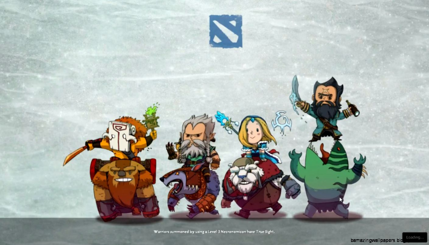 Can anybody tell me what this loading screen is Thanks  DotA2