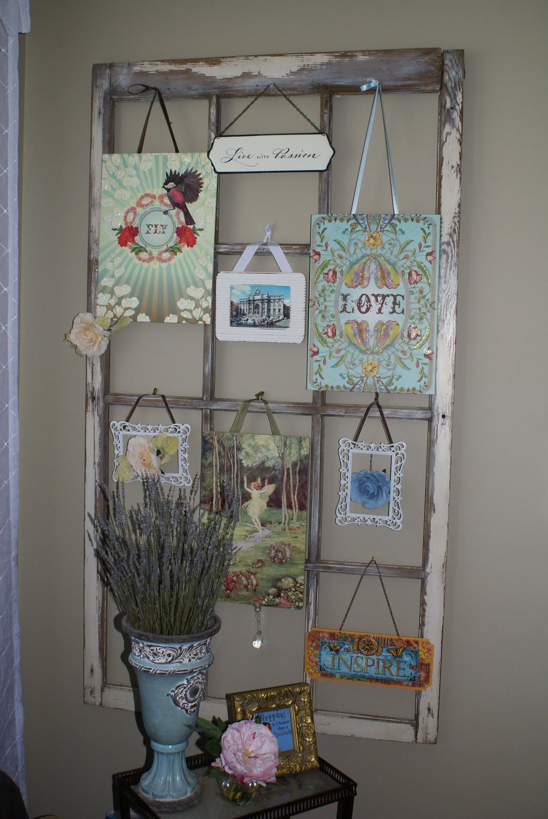 Decorate Old Windows Ava Blake Creations Vintage Windows And How To Decorate Them