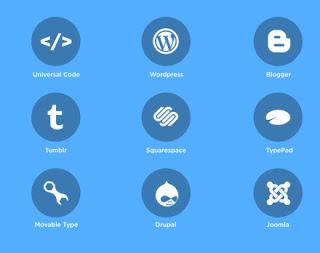 pilihan flatform untuk widget disqus