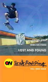 SKATERNOISE ON VIDEO - Fall 2002