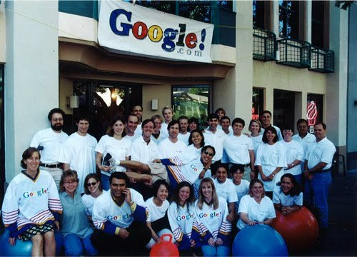Google in 1999, when they started