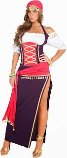 Disfraces de Halloween para Mujer, Gitanas, parte 1