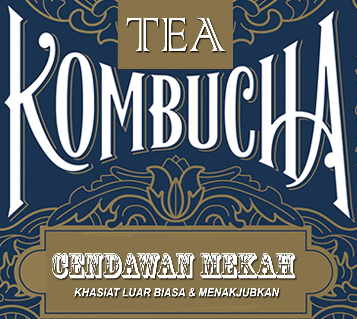 LAMAN KOMBUCHA TEA @ CENDAWAN MEKAH @ IBU SOM