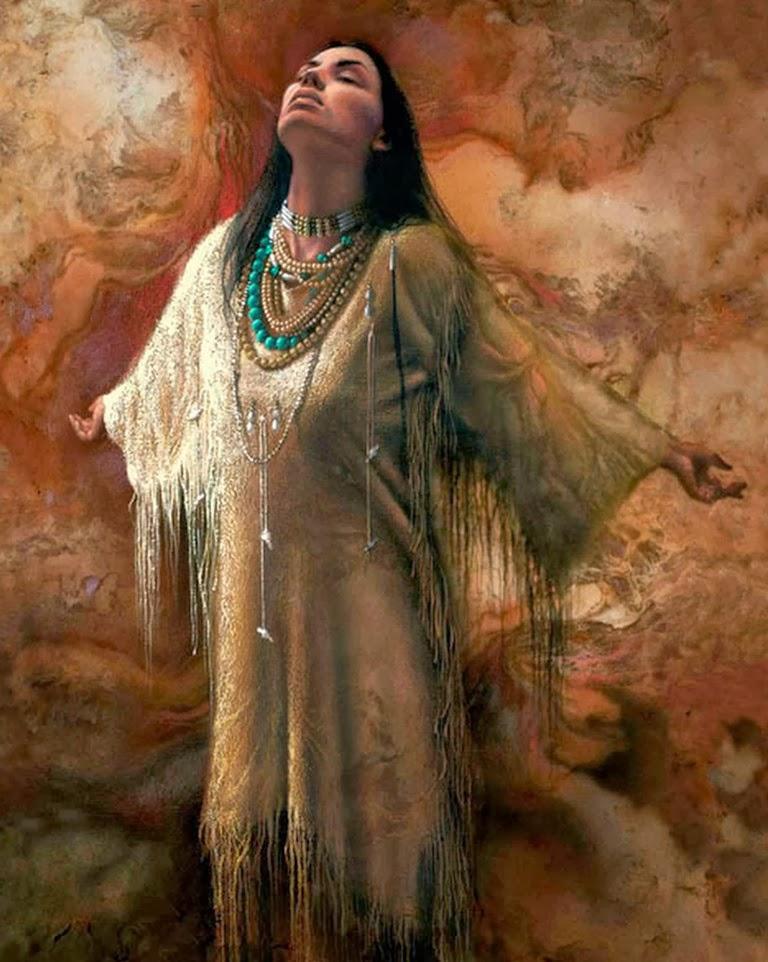 pinturas-de-indias-americanas