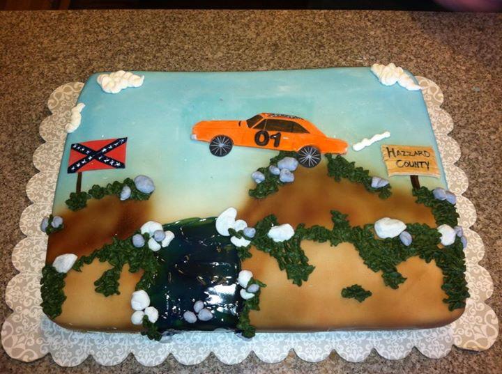 Katrinas Custom Cakes Dukes Of Hazzard Cake