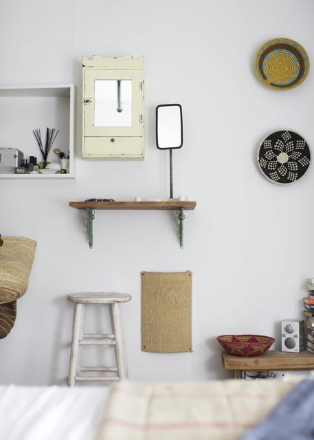 Unkompliziertes Vintage Design – locker arrangierte Möbel, Leuchten und Accessoires zur Gemütlichkeit einer Wohnung