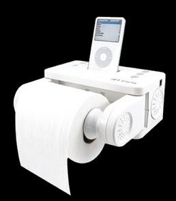 Icarta il porta carta igienica per gli iphone e gli ipod - Dove mettere il porta carta igienica ...