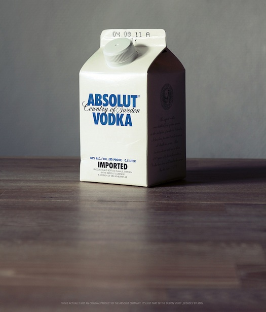 Ecohol Absolut Vodka