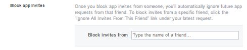 Facebook Block App Invites | Ongtrovert