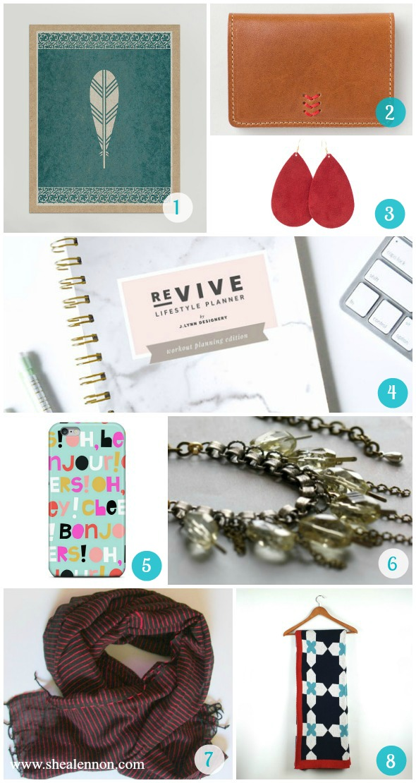 Gift guide featuring Kansas City made jewelry, accessories, and home goods. | www.shealennon.com