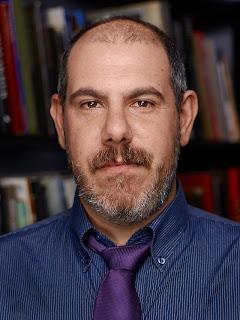 Film critic Adriano Ercolani photographed by Giorgio Simbula