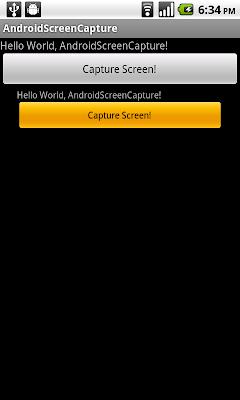 通過繪圖緩存(DrawingCache)捕獲屏幕顯示