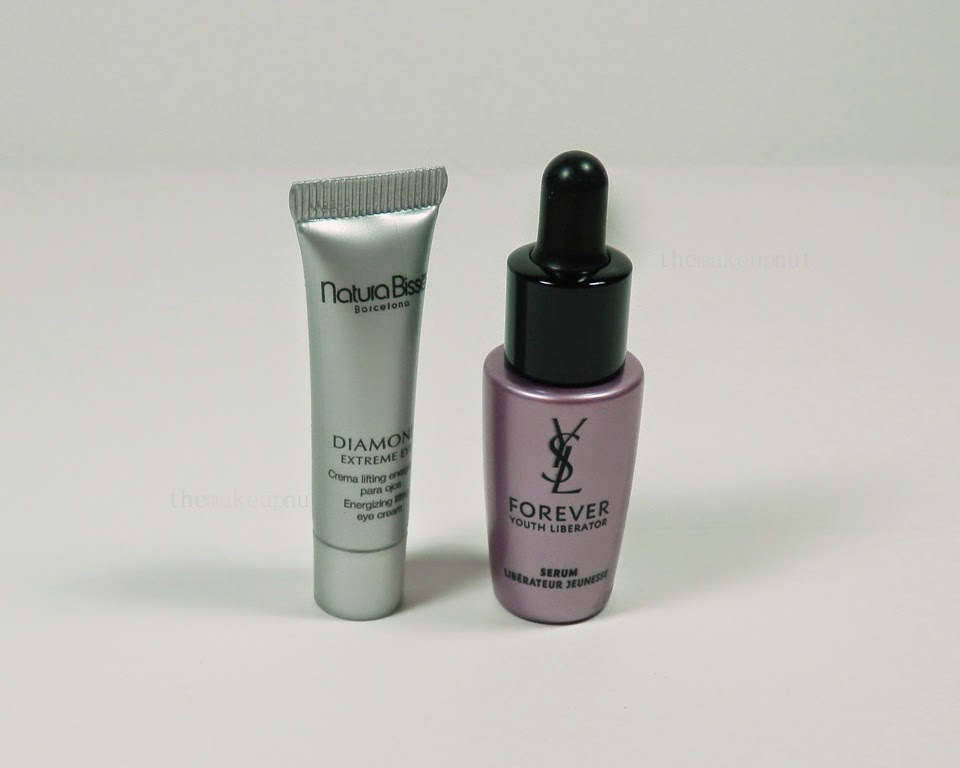 Natura Bisse Diamond Eye Extreme YSL Forever Youth Liberator Serum