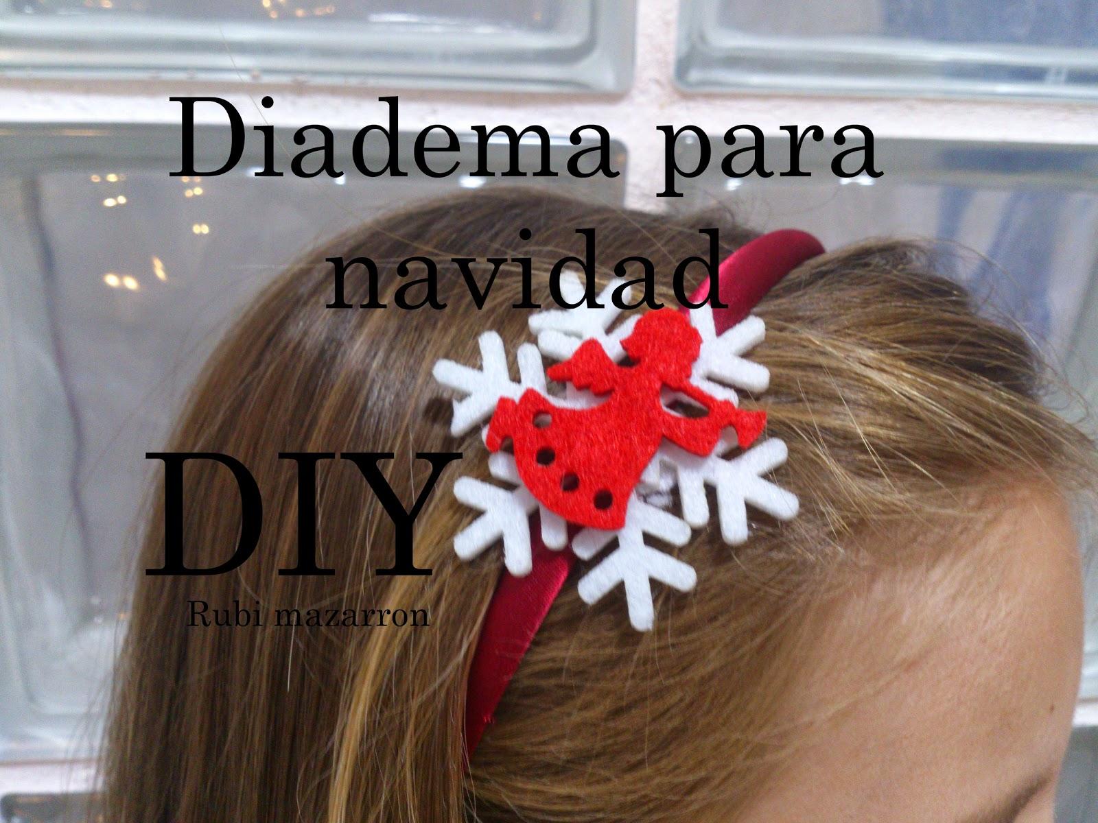 Diademas para Navidad