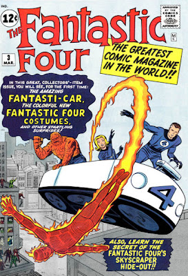 Fantastic Four #3, first costumes, first fantasti-car, Miracle Man