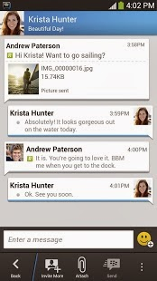 bbm apk chat screen
