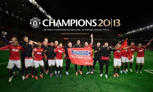MU juara, setan merah, liga inggris 2012-2013