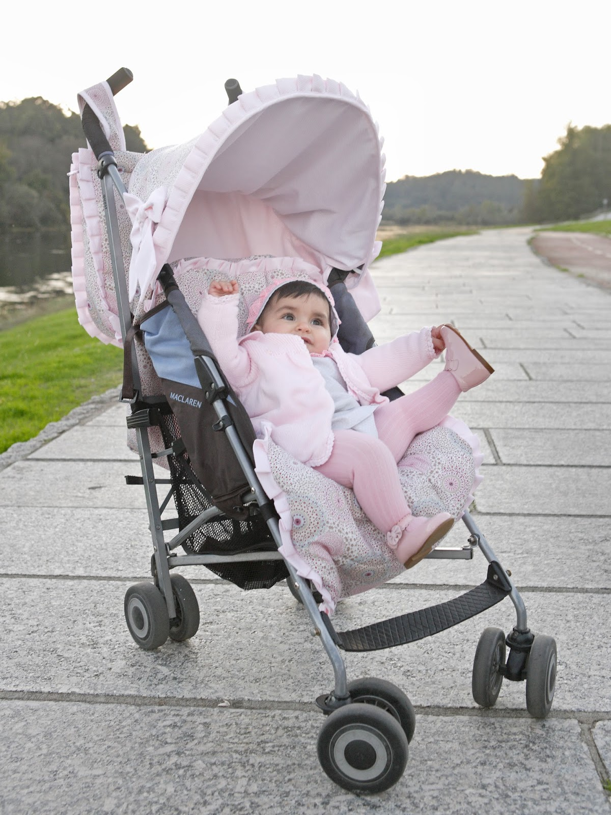 Silla maclaren personalizada unikko beb s sacos de for Saco para silla maclaren