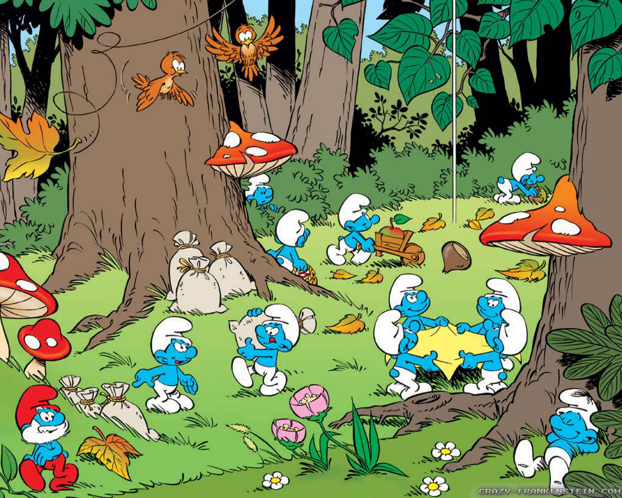 The Smurfs Wallpapers Cartoon Wallpapers