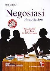 toko buku rahma: buku NEGOSIASI  EDISI 6 BUKU 1, pengarang roy j lewicki, penerbit salemba humanika
