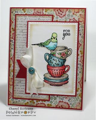 Power Poppy, Short Stacks, Good Thinking: Renewal, CherylQuilts, Designed by Cheryl Scrivens, Sweet Sunday Sketch Challenge