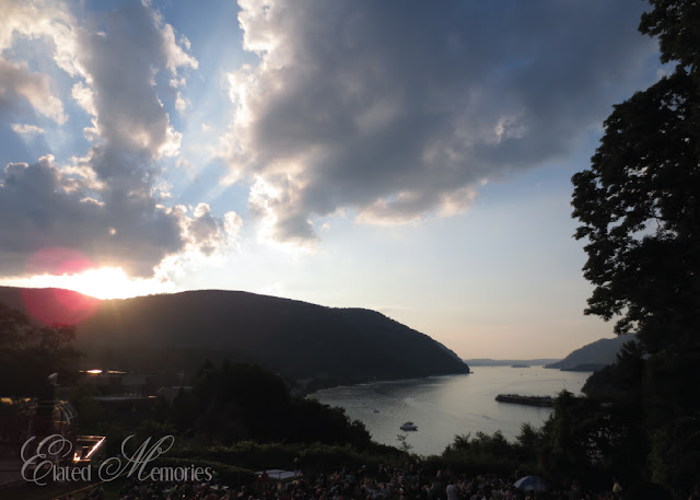 West Point Trophy Point Storm King Mountain Bannerman Island Castle Fireworks Independence Day Celebration Fourth of July