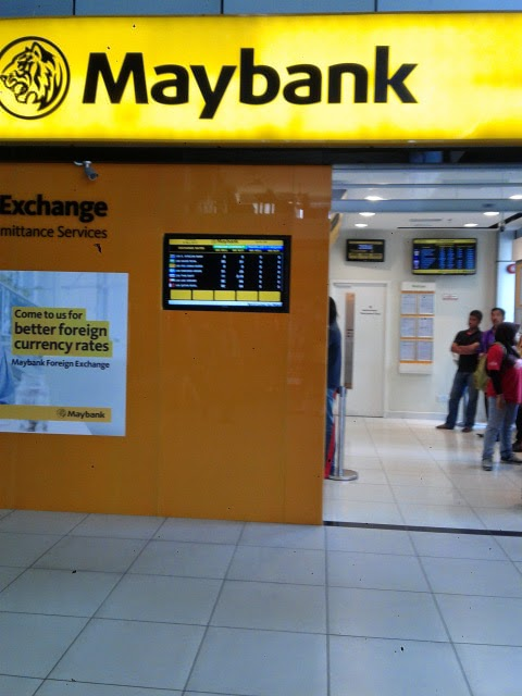Maybank forex rate
