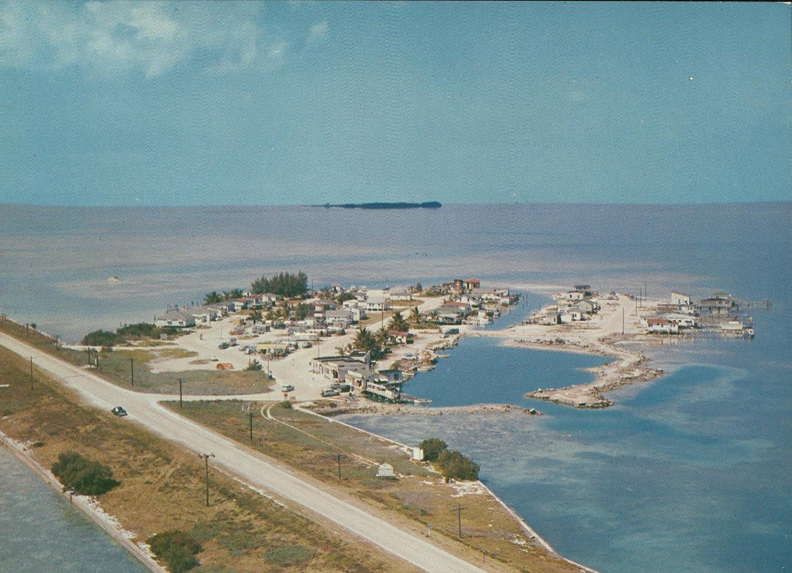 Vintage travel postcards florida keys for Best fishing in florida keys