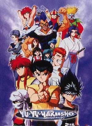 Desenho Poster  Yu Yu Hakusho - Completo DVDRip H.264 Legendado