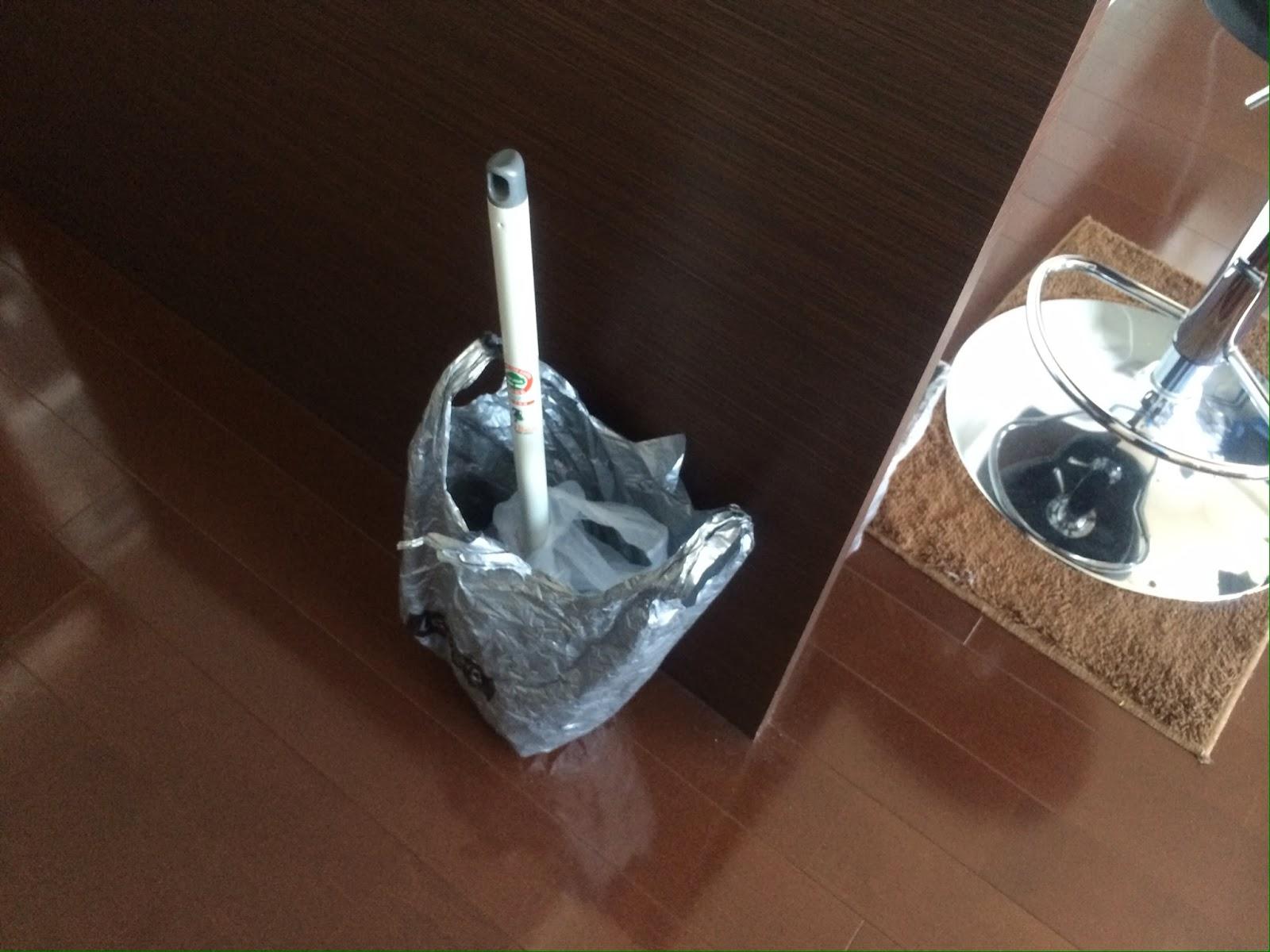 台所の詰まりもラバーカップで治る