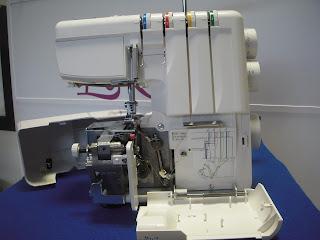 remalladora overlock elna 664 mecanismos internos remallar